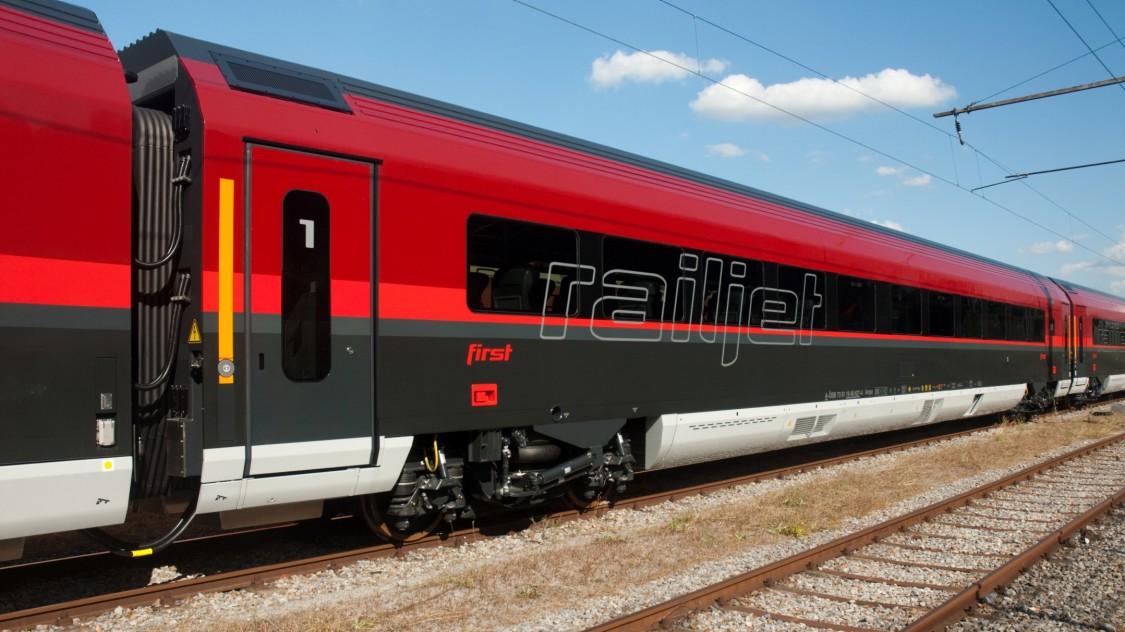 ÖBB Railjet Flotte