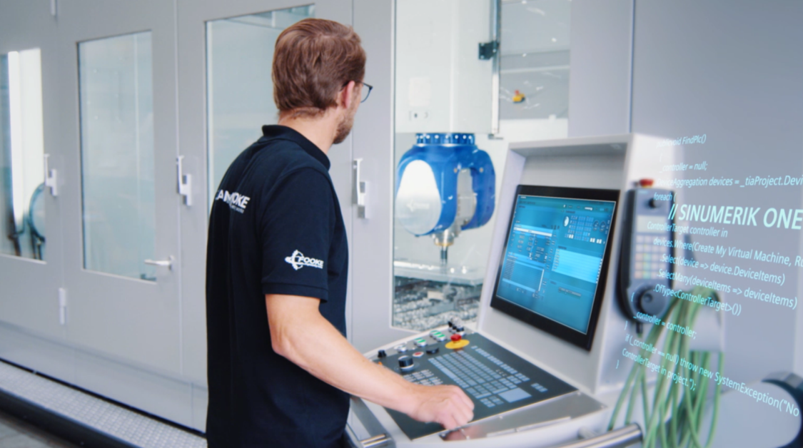 CNC machine user