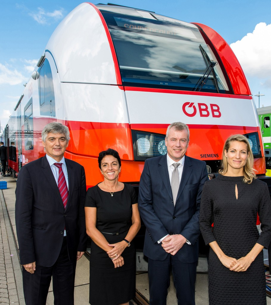 Handover of Desiro ML for Austrian Federal Railways (OeBB)