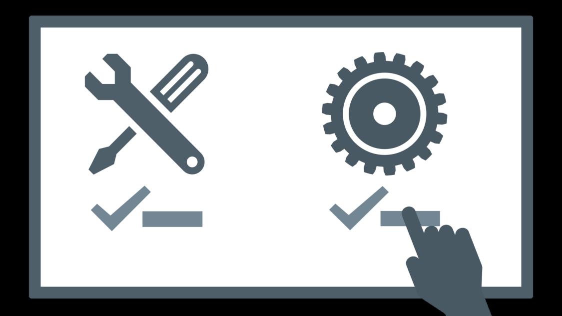 Illustration machine tool analysis