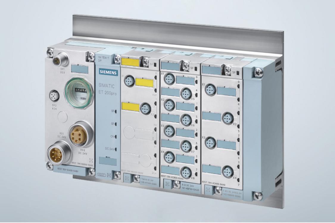 Electronic module for PROFIsafe