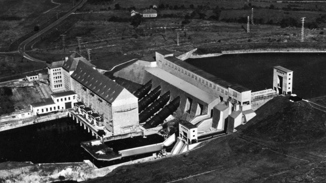 Shannon hydroelectric powerstation
