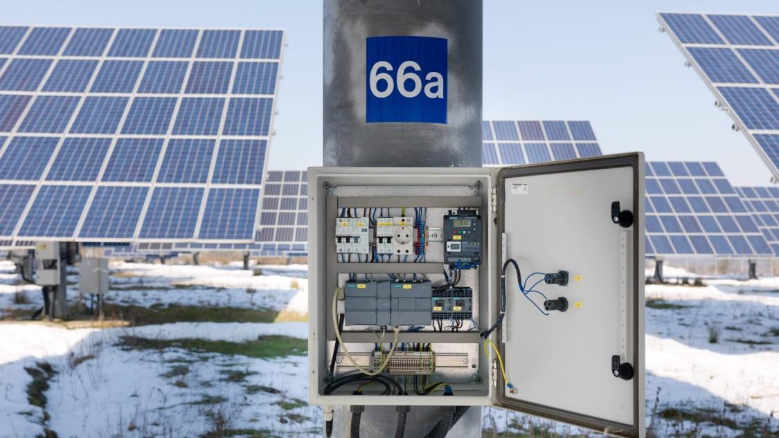 Solar Tracking - Machine Building | Solar production