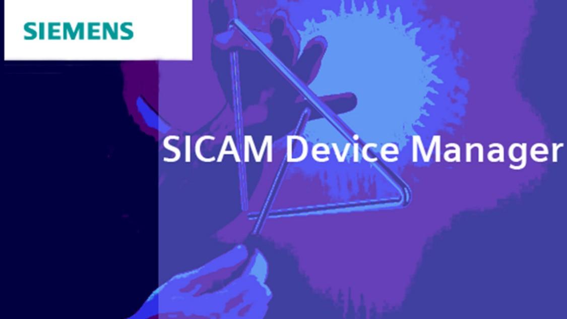 Engineering Software für SICAMA8000– SICAM Device Manager