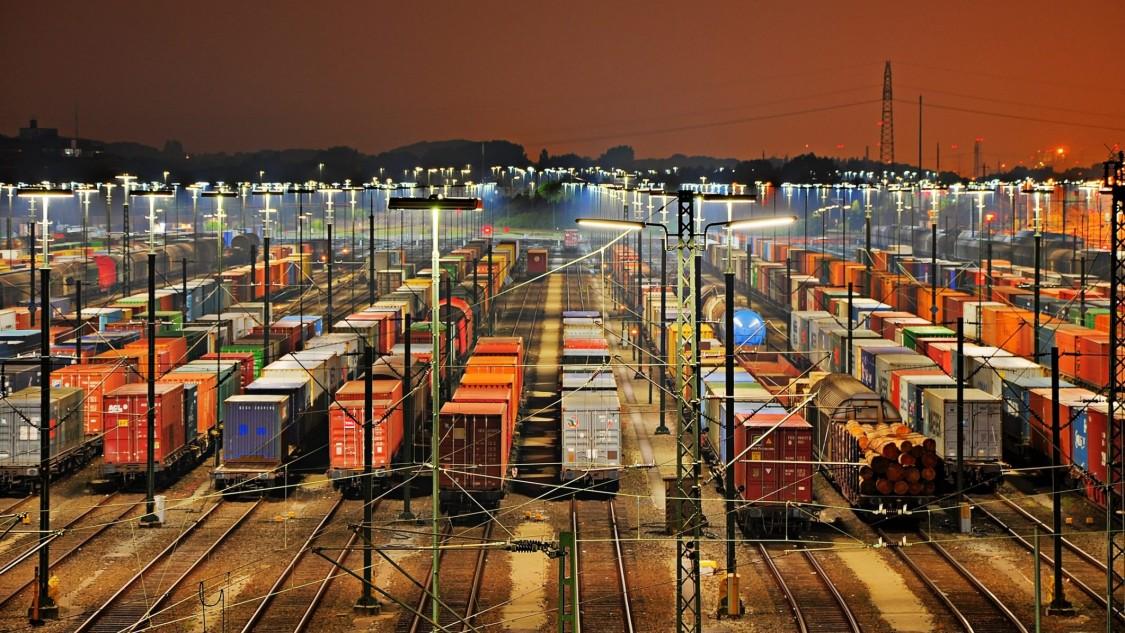 Europe's largest marshalling yards