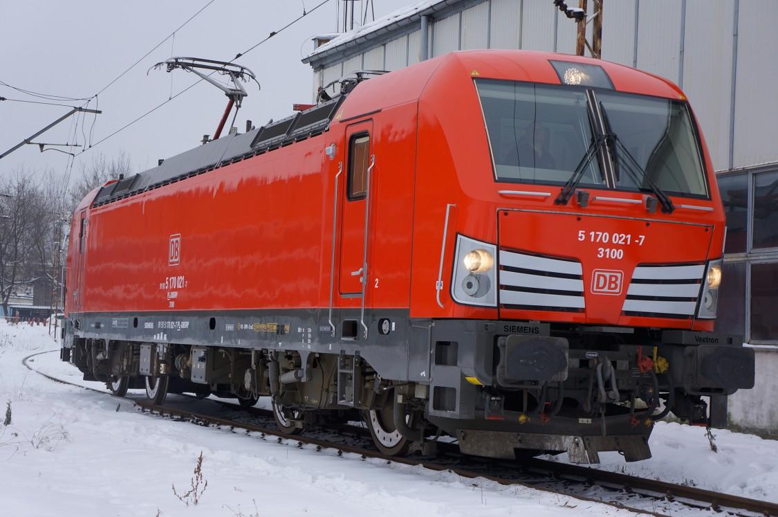 Vectron DC dla DB Cargo Polska