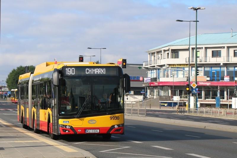 Autobus linii 190, fot. L. Peczyński