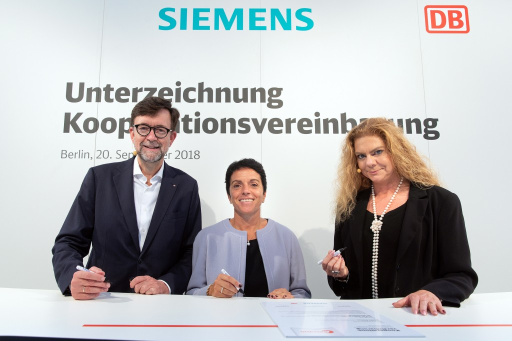 Deutsche Bahn and Siemens Mobility sign a cooperation agreement for the Ideas Train