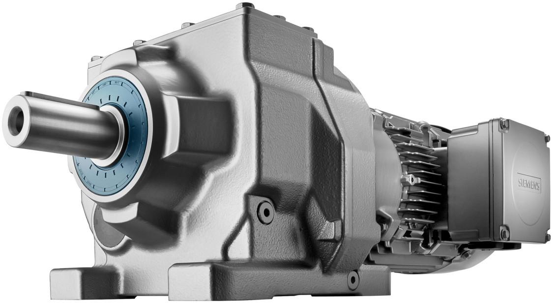 Helical geared motor SIMOGEAR