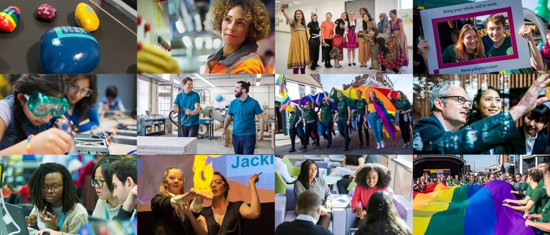 Diversity Sparks Ideas