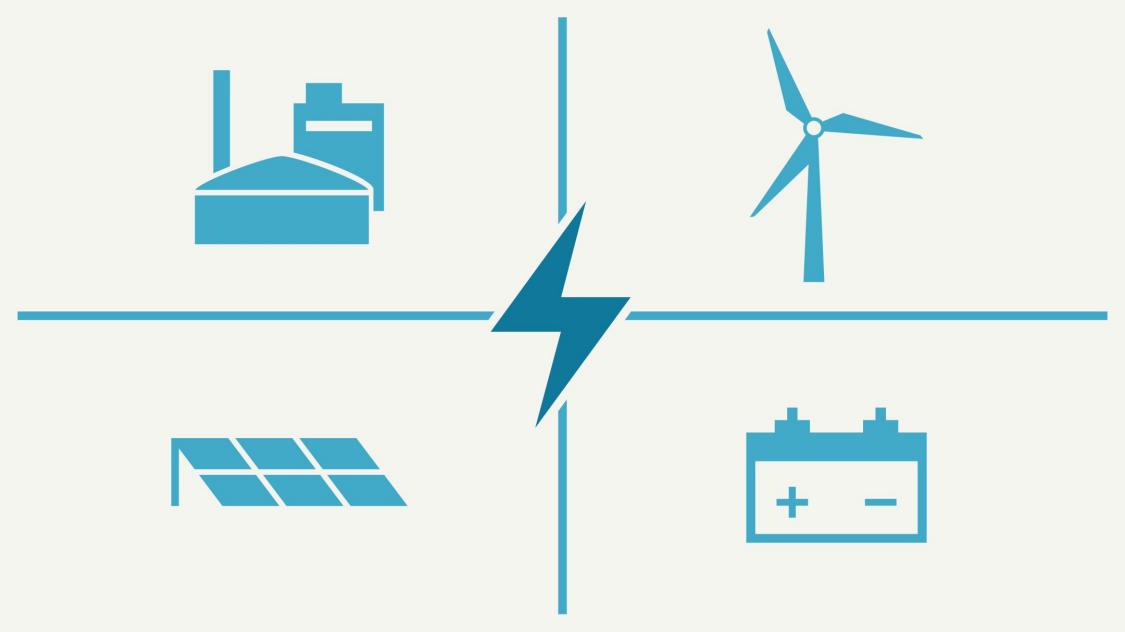 Dezentrale Energiesysteme: Hybridkraftwerke
