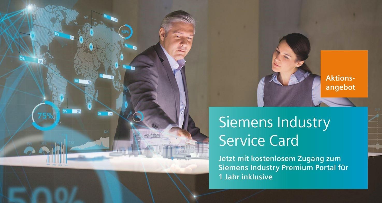 Siemens Industry Service Card – Hotline Bezahlkarte