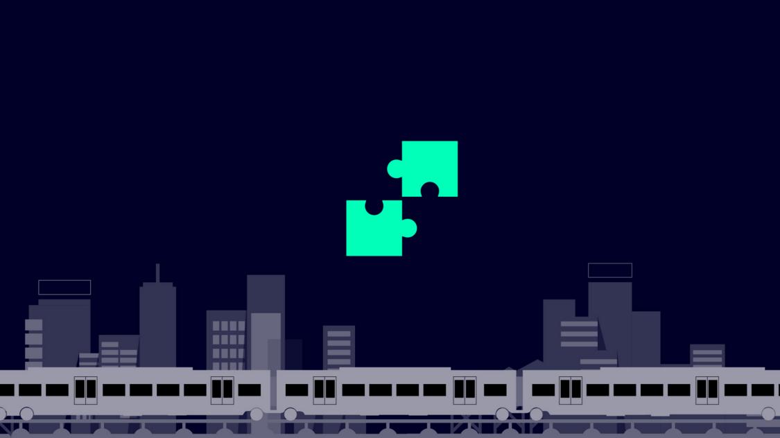 Icon für geringere Anzahl an Bauteilen, weniger Verkabelung, mehr Standardkomponenten