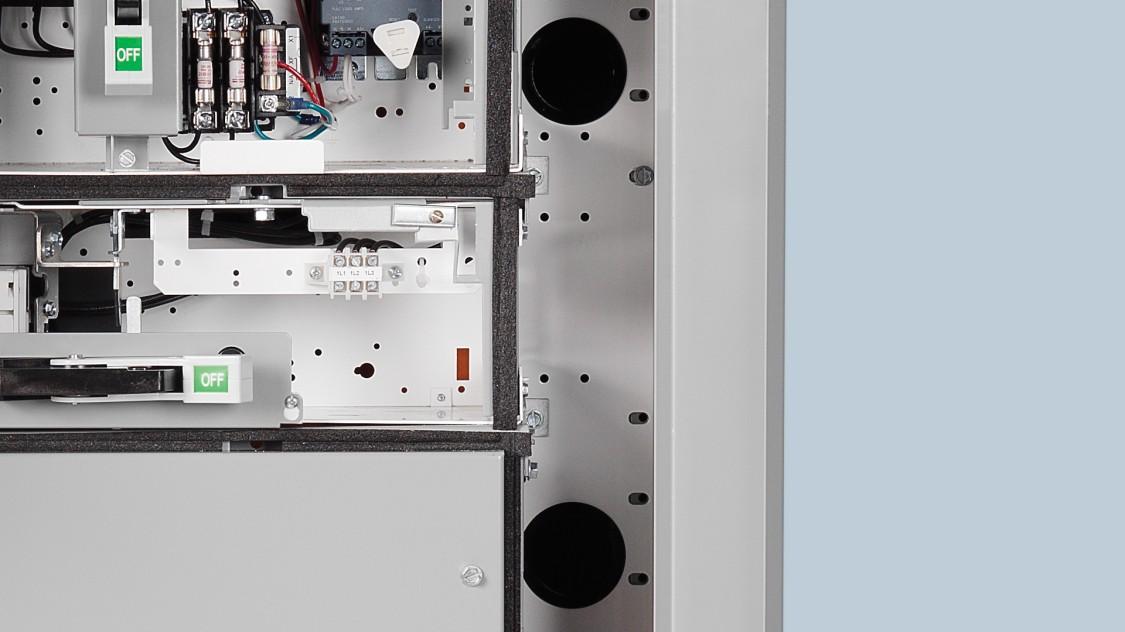 Internal venting system