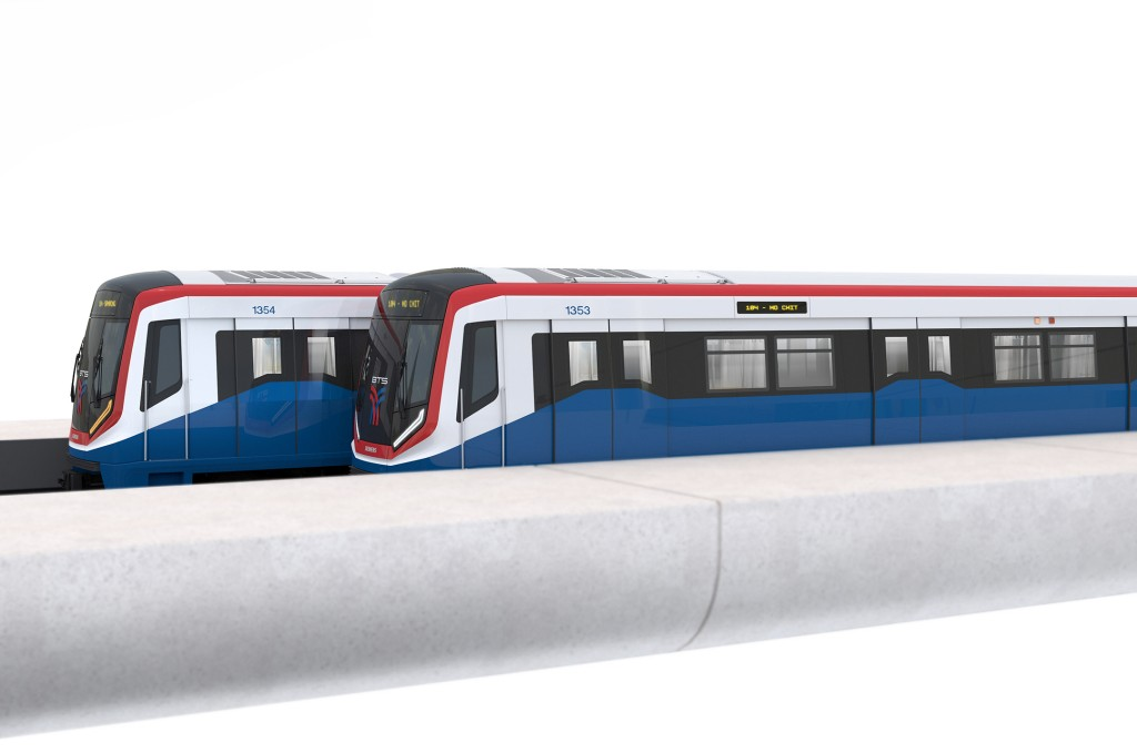 Erste Metro für Bangkoks Green Line verlässt das Werk