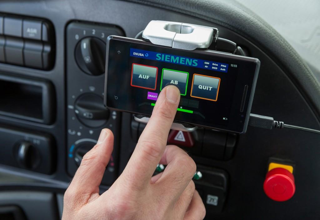 Intelligenter Stromabnehmer ermöglicht volle Flexibilität des Lkw