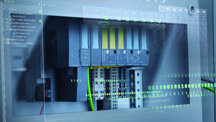 SIMATIC ET 200SP im kompakten Schaltschrank