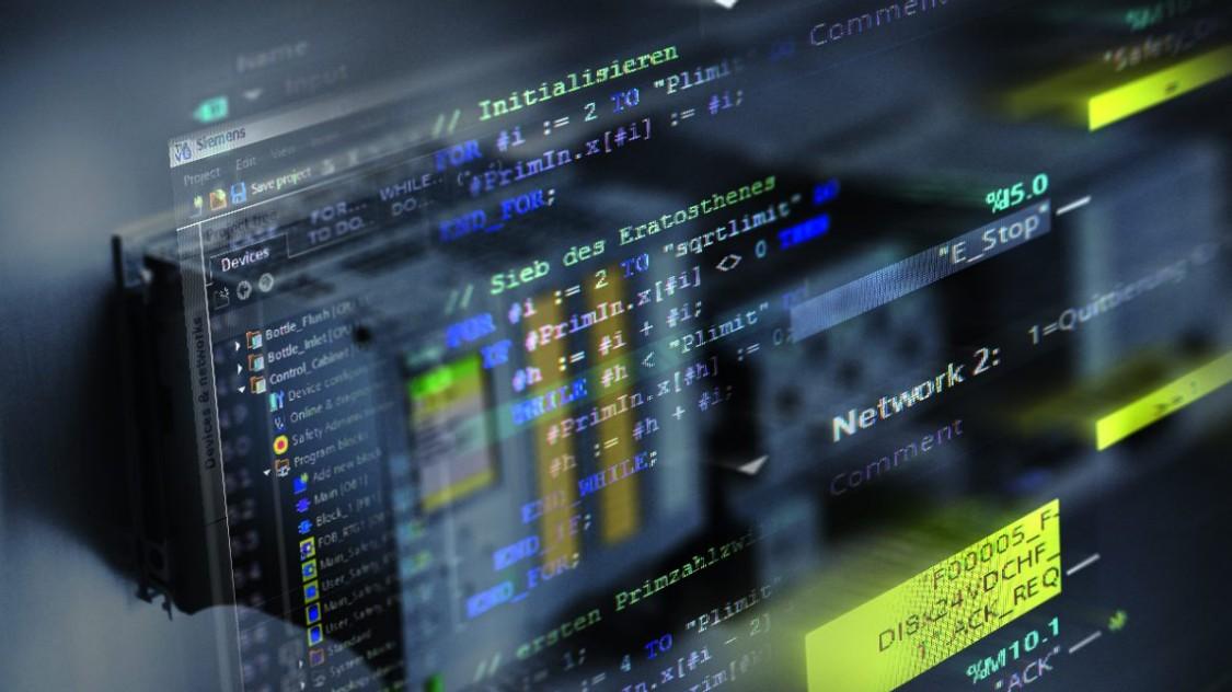software pro řídicí jednotky SIMATIC
