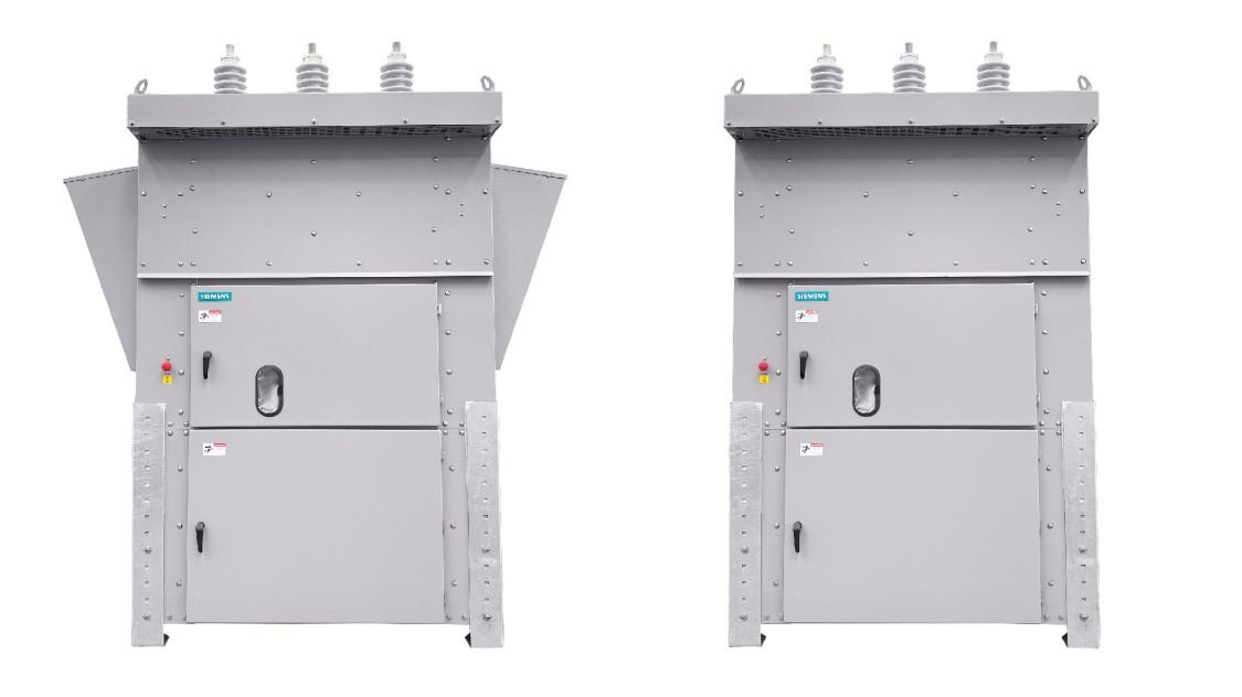SDV-R-AR arc-resistant and SDV-R non-arc-resistant distribution medium-voltage circuit breakers