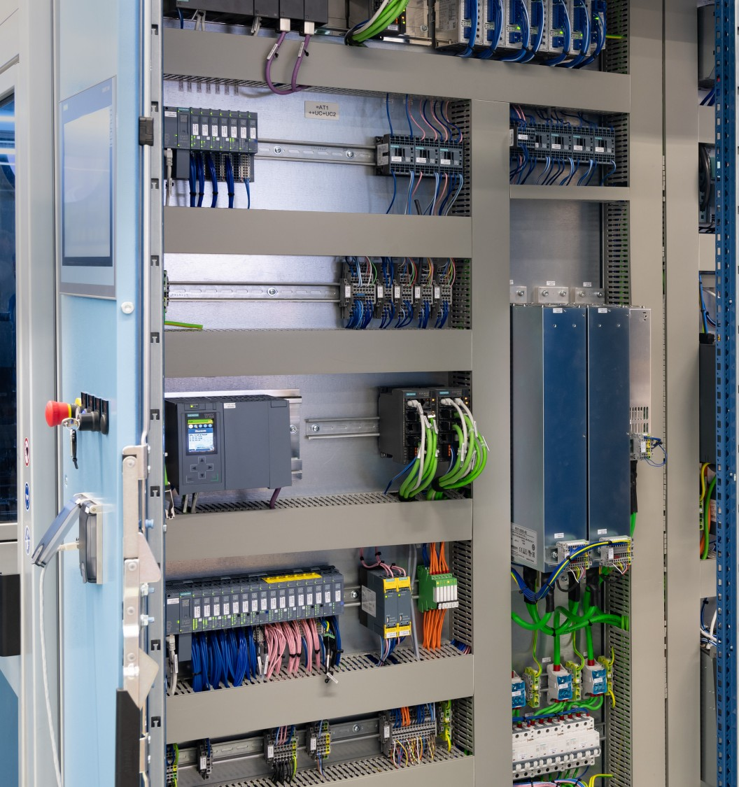 Simple and fail-safe wiring with PROFINET