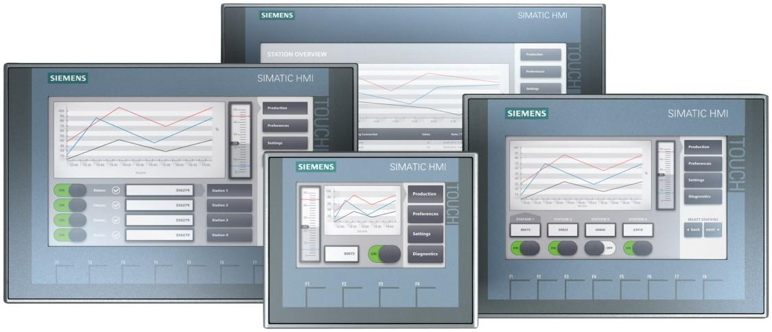 simatic hmi - panele operatorskie basic
