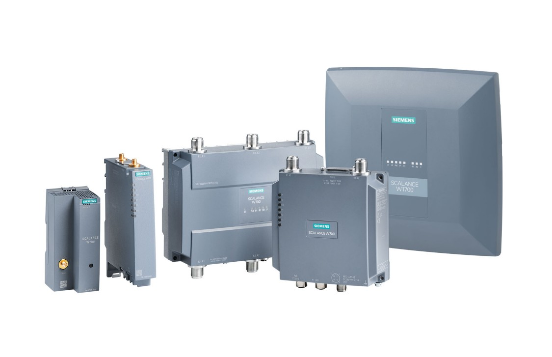 The SCALANCE W family offers IWLAN components for every application