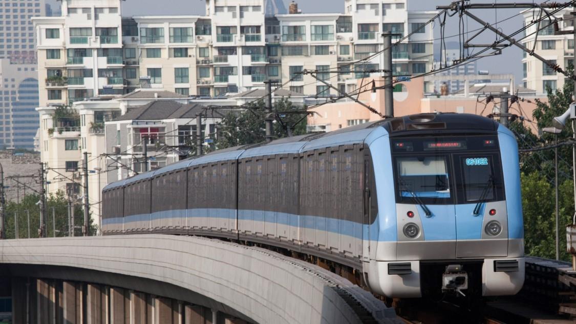 Städtisches Verkehrsleitsystem in Wuhan