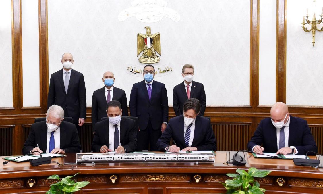 Siemens Mobility - Egipt - podpisanie umowy