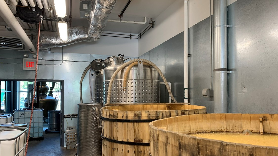 Distilling room picture