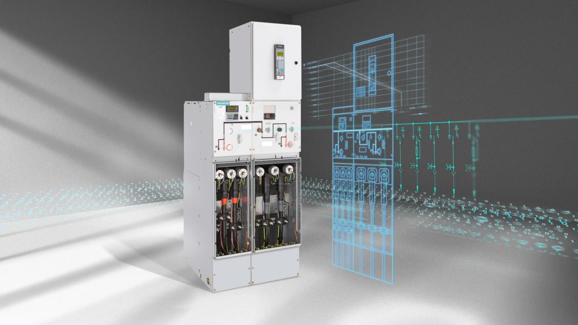 8DJH gas-insulated switchgear