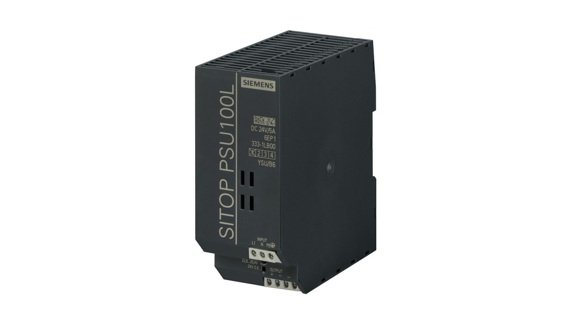 Produktbild SITOP PSU100L, 1-phasig, DC 24 V/5 A