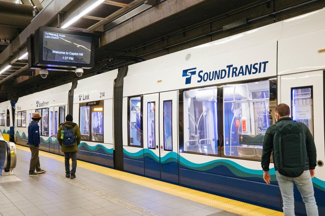 Siemens S700 Sound Transit LRT Vehicle Rendering