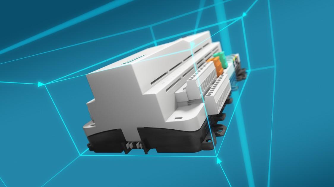 Steuern Sie mit Desigo PCX Controllern leistungsstarke Gebäude
