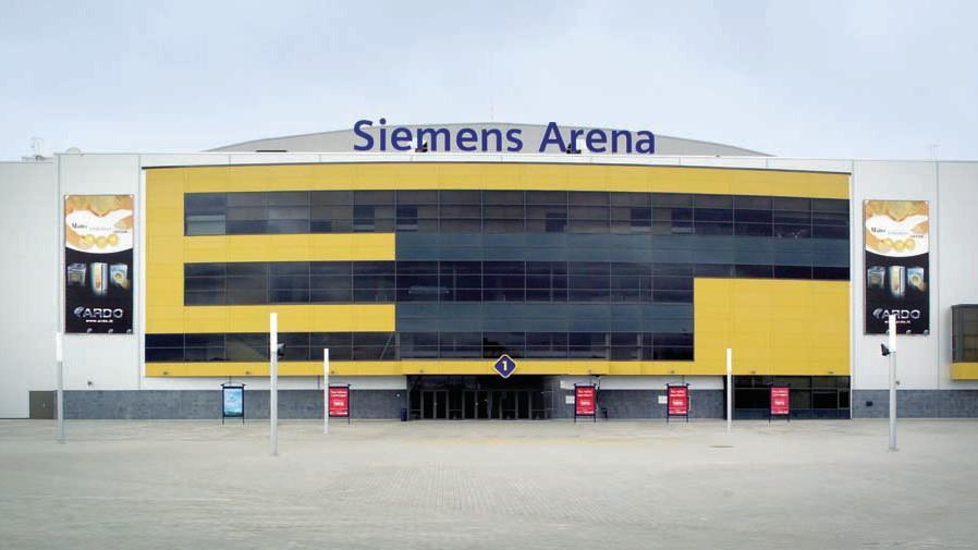 The Siemens Arena, Вильнюс