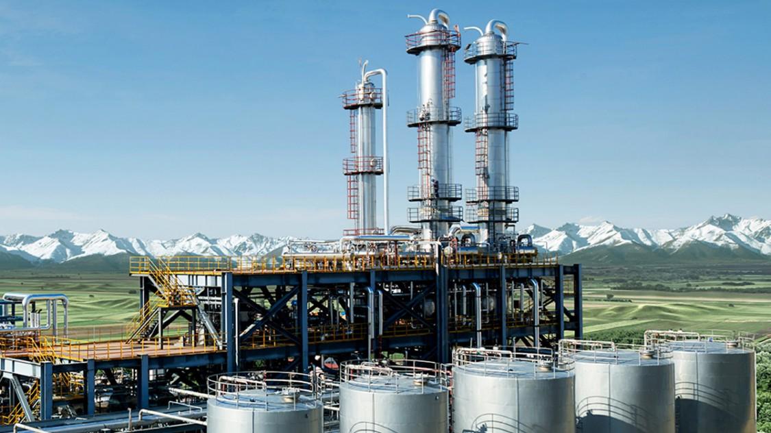 biomass refinery