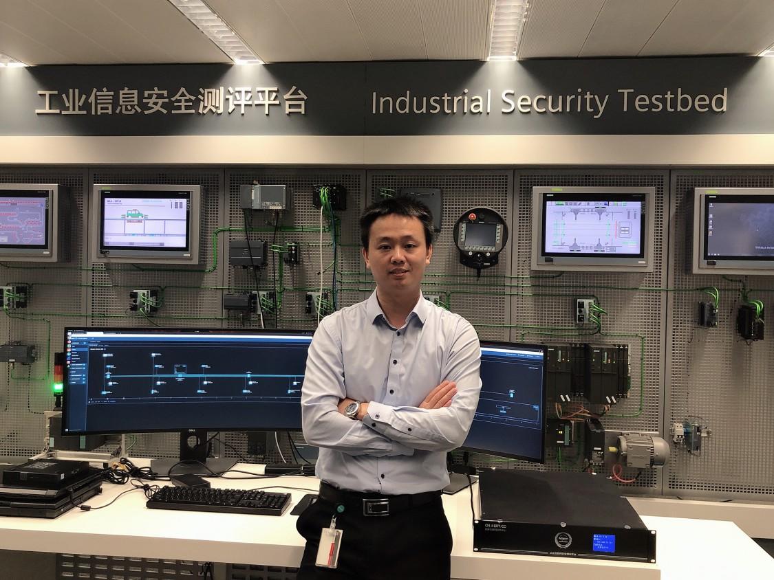 Jian Jun Hu, CCSO von Siemens China