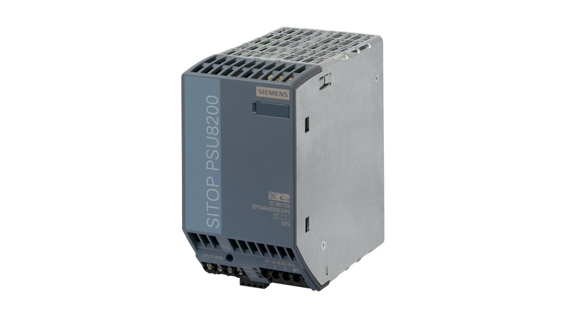 Product image SITOP PSU8200, 3-phase, DC 48 V/10 A