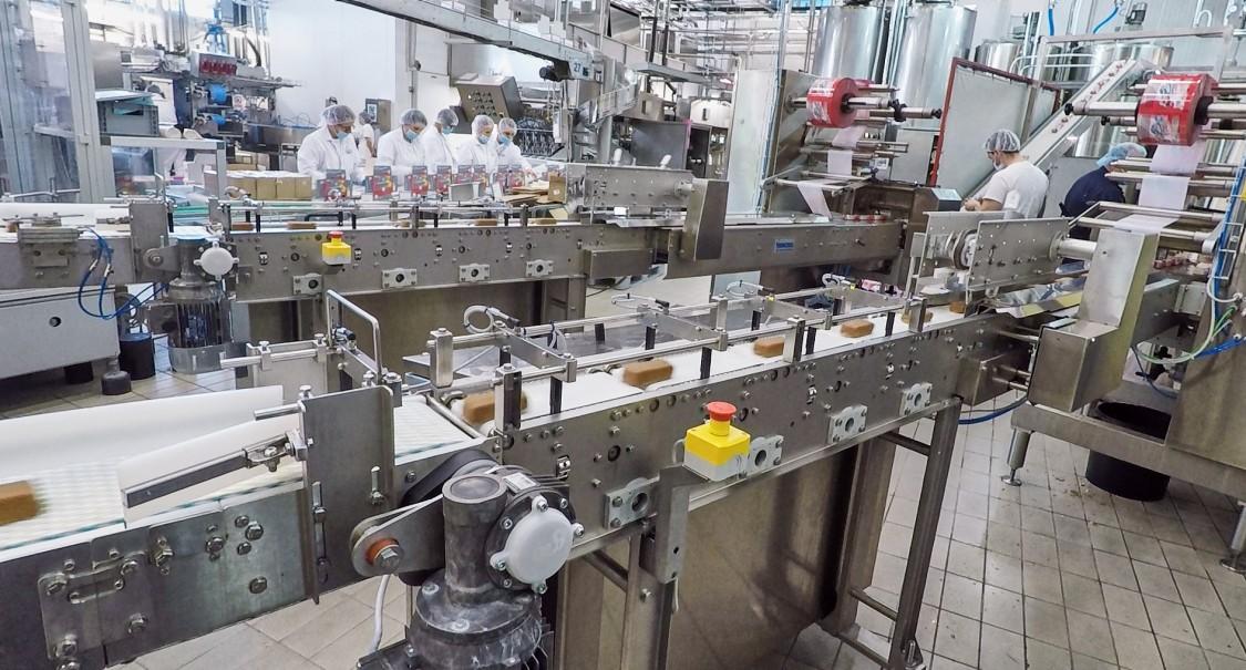 Ice cream packaging machine from Teknoice