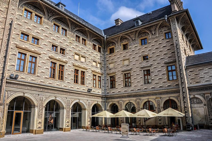 Schwarzenberský palác reference Siemens