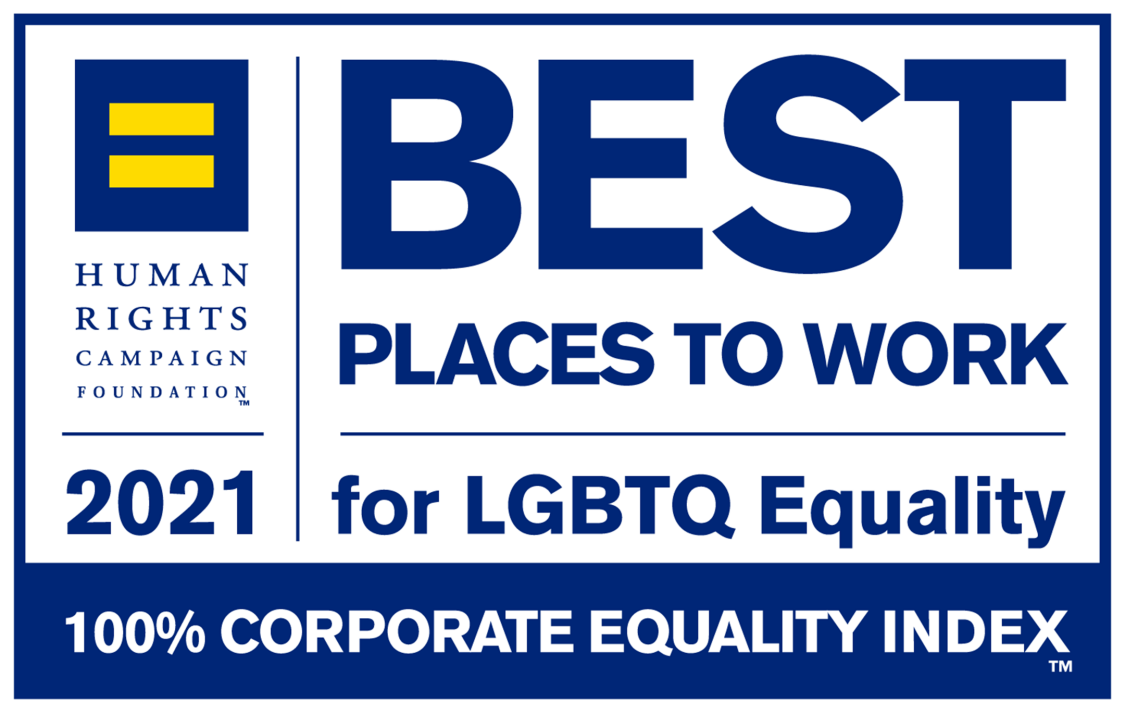 Siemens Earns Perfect Score for Best Places to Work for LGBTQ logo 2021