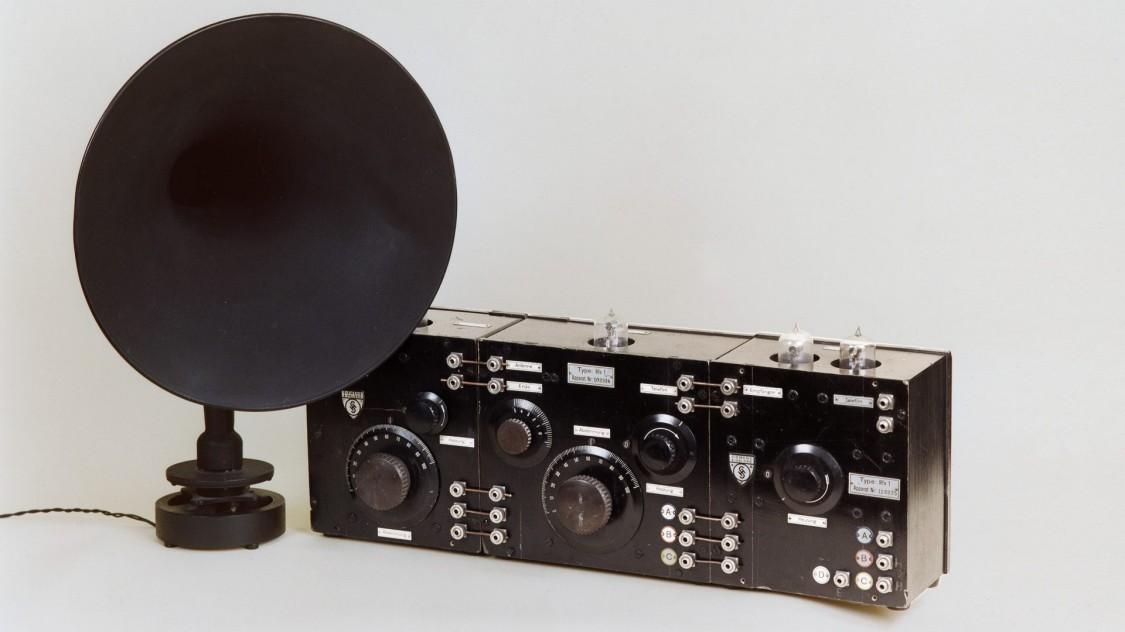 Радио «Siemens D-Zug», 1924 год
