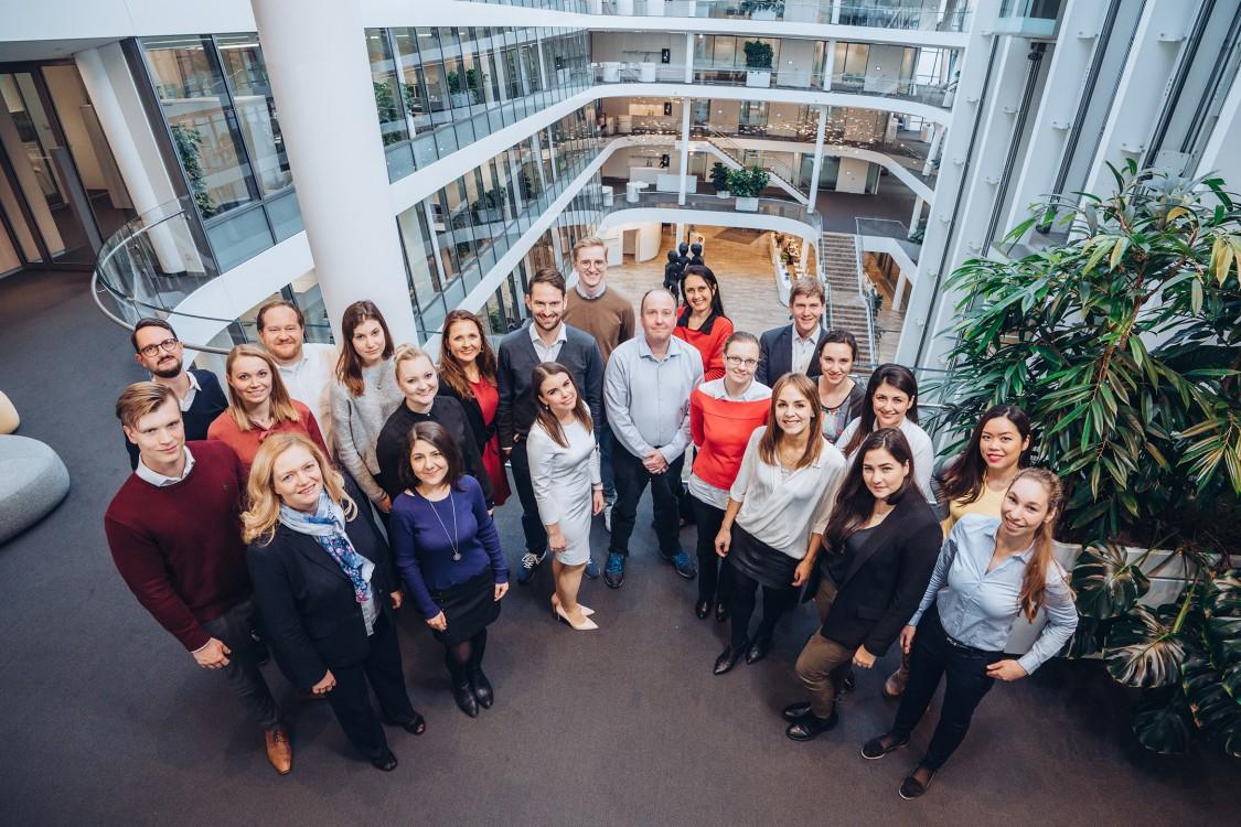 human asset management team photo