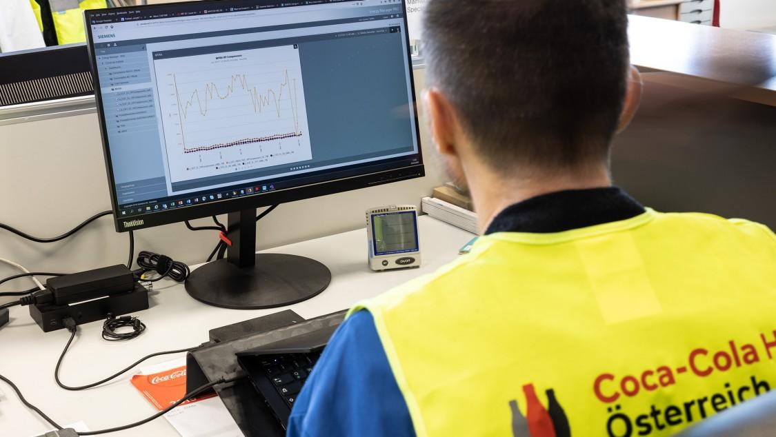 Die Mitarbeiter in Edelstal können sich im Simatic Energy Manager Pro mit wenig Aufwand eigene Dashboards erstellen und Kennzahlen detailliert analysieren und verfolgen
