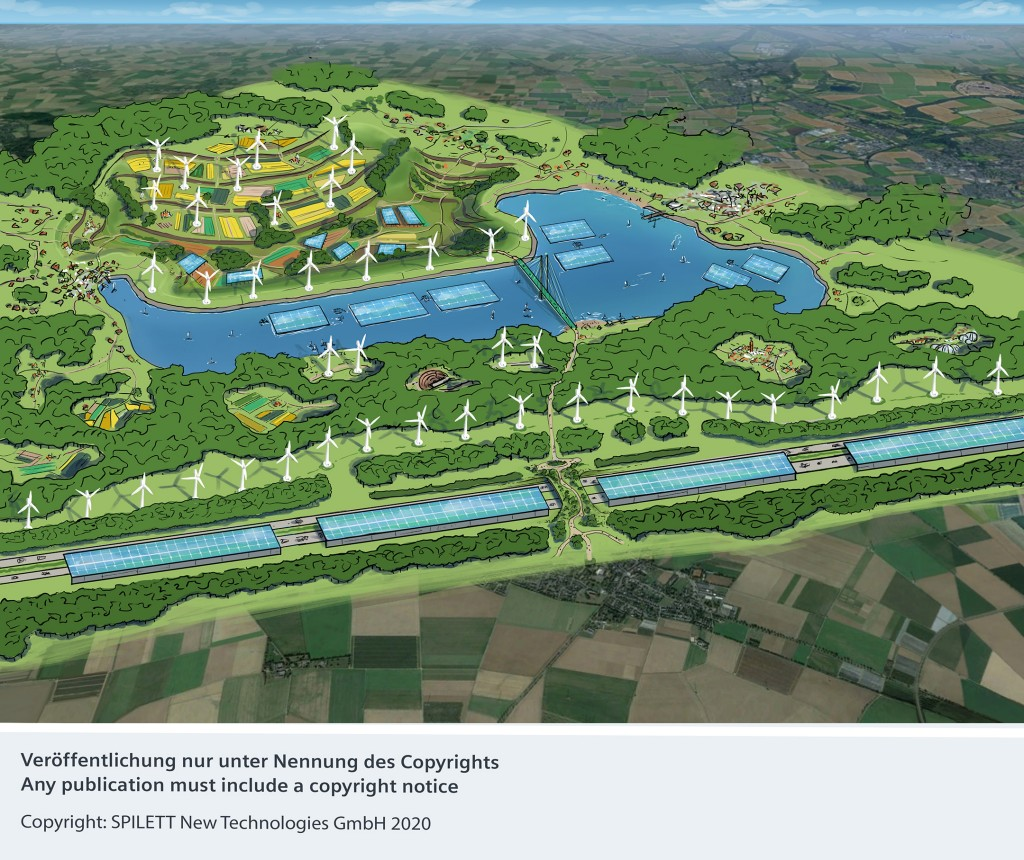 """The Kolping City of Kerpen and its partners agree on a long-term cooperation on the way to """"SpeicherStadtKerpen"""""""