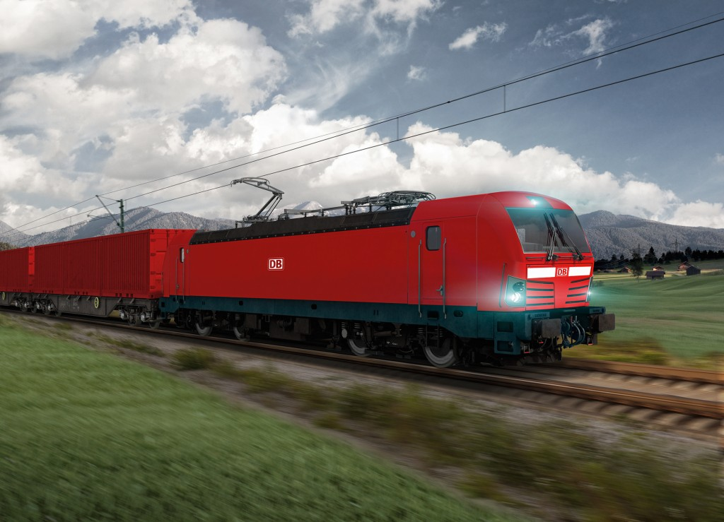 Siemens hands over two Vectron locomotives to DB Schenker Rail Polska