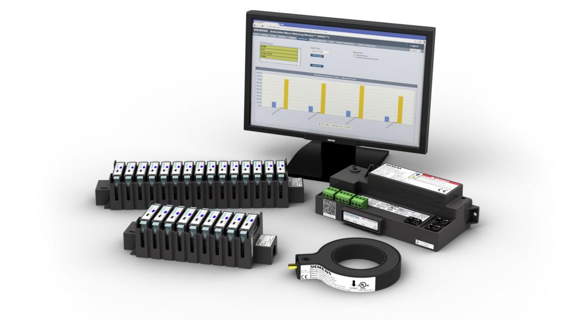 многоканальная система измерения токов SEM 3 в главном распределительном щите.