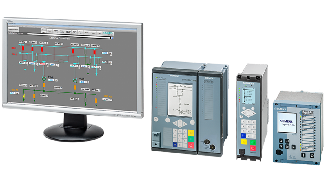 Siemens protection relays SIPROTEC and Reyrolle