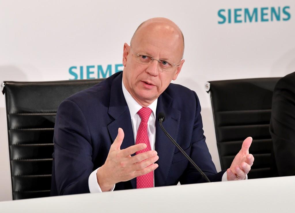 Ralf P. Thomas, Mitglied des Vorstands der Siemens AG und Chief Financial Officer.