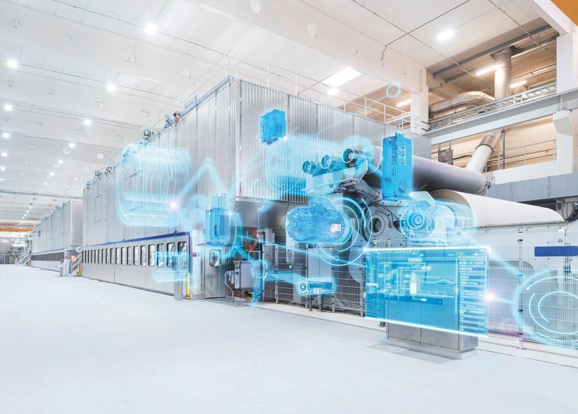 Papel e celulose Siemens