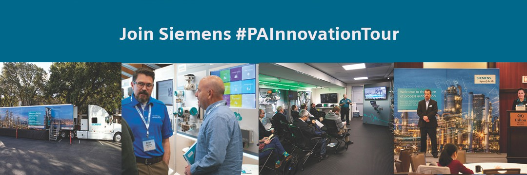 Join Siemens Process Automation Innovation Tour